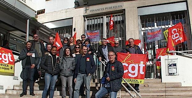 Grève aux Finances Publiques de Bastia ce jeudi 28 mars
