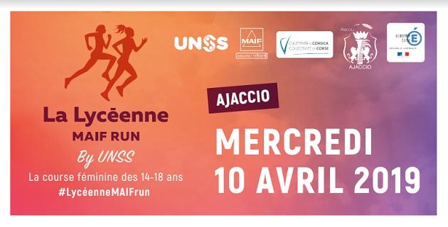« La Lycéenne Maif Run » réunira 600 élèves place Miot à Ajaccio le 10 avril