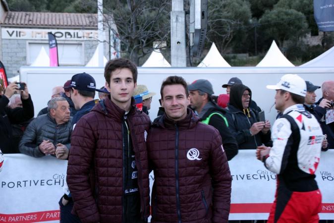Pierre-Louis Loubet et Vincent Landais évoluaient à la maison pour la cérémonie d'ouverture