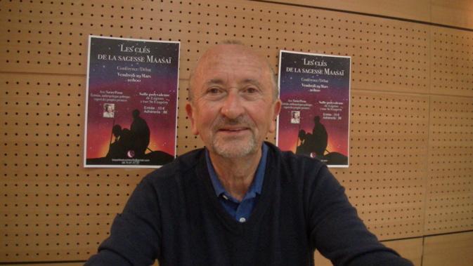 Xavier Péron ce vendredi soir à Bastia et samedi à Vallecalle
