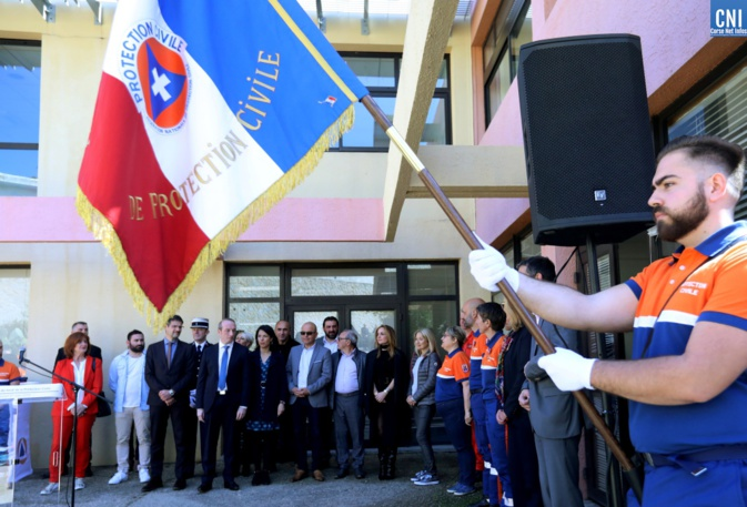 Inauguration des nouveaux locaux de la sécurité civile / Photo Michel Luccioni