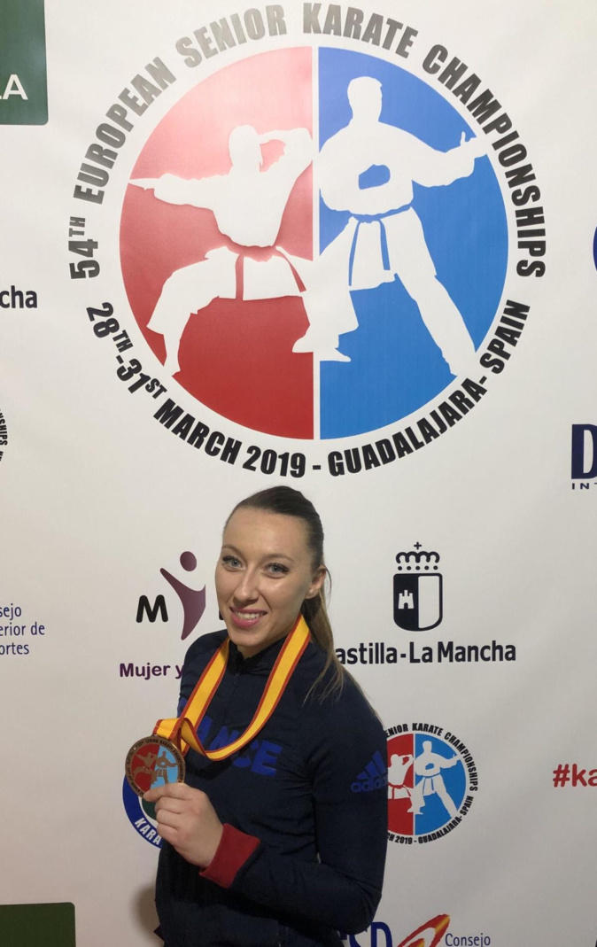 Championnats d'Europe Karaté : Alexandra Feracci en bronze