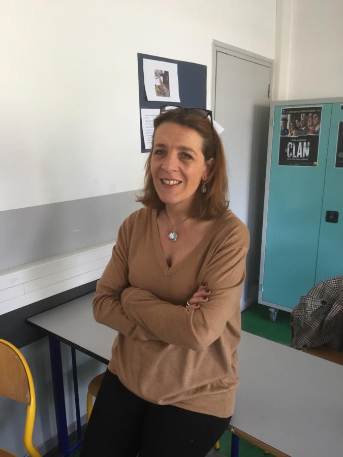 Anne-Laure Buffet parle de harcèlement aux élèves du lycée Vincensini de Bastia