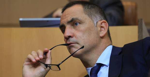 Gilles Simeoni, président du Conseil exécutif de la Collectivité de Corse et leader des Nationalistes modérés. Photo Michel Luccioni.