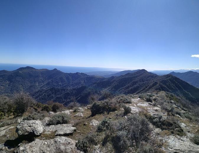 La photo du jour : Sur le Monte Olmelli