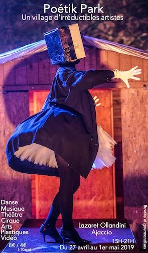 Musique, danse, théâtre, arts plastiques, vidéo et cirque pour le festival Poétik Park d'Ajaccio
