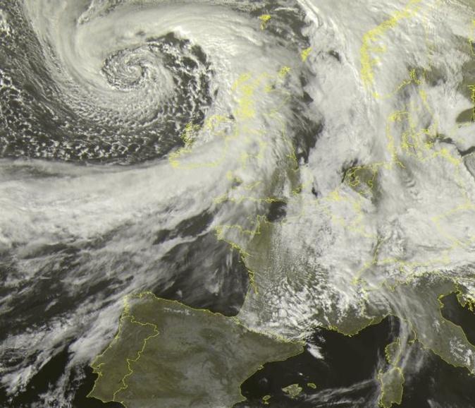 Vent violent et orages : Météo France place la Haute-Corse en alerte jaune