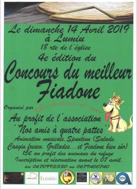 IVe édition du meilleur Fiadone le 14 avril à Lumio