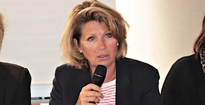 Catherine Riera, présidente de La Marie-Do