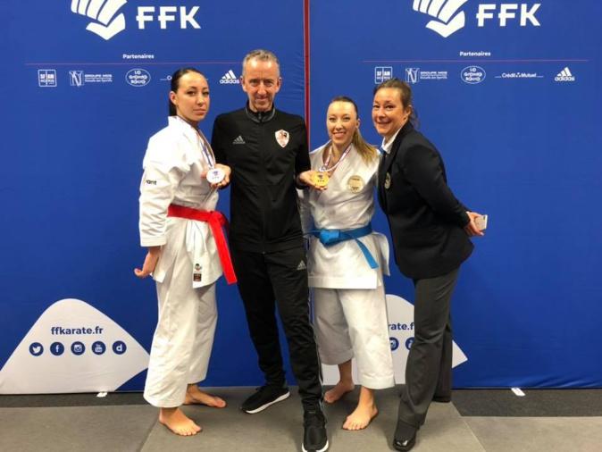 Karaté : Alexandra Feracci reprend son titre de championne de France