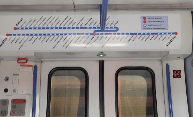 Un « thermomètre » dans tous les trains