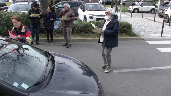 A Bastia les retraités manifestent dans la rue