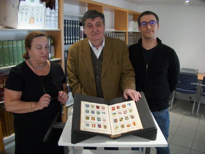 Linda Piazza et Michel Popoff présenteront ce vendredi ce trésor de la bibilothèque patrimoniale...