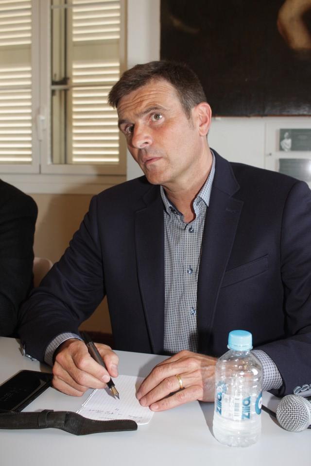 """Jean-Martin Mondoloni: """"Notre opposition est claire et cohérente sur les fondements"""""""
