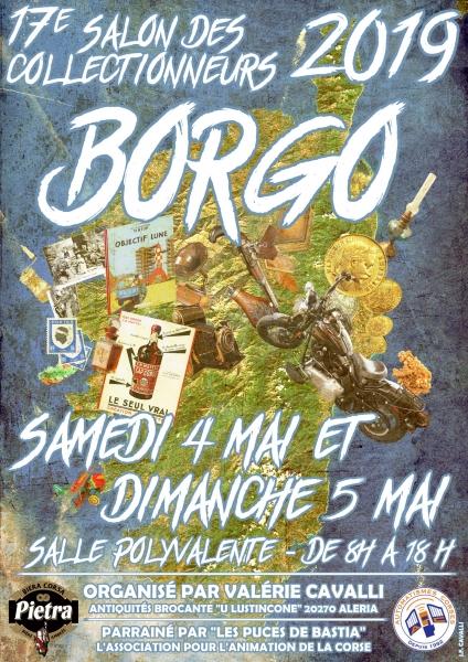 Borgo : Le très attendu « Salon des collectionneurs » les 4 et 5 mai prochains