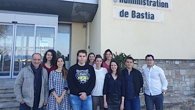 Les élèves de l'IRA de Bastia donnent vie au rêve de Paul, atteint d'une leucémie