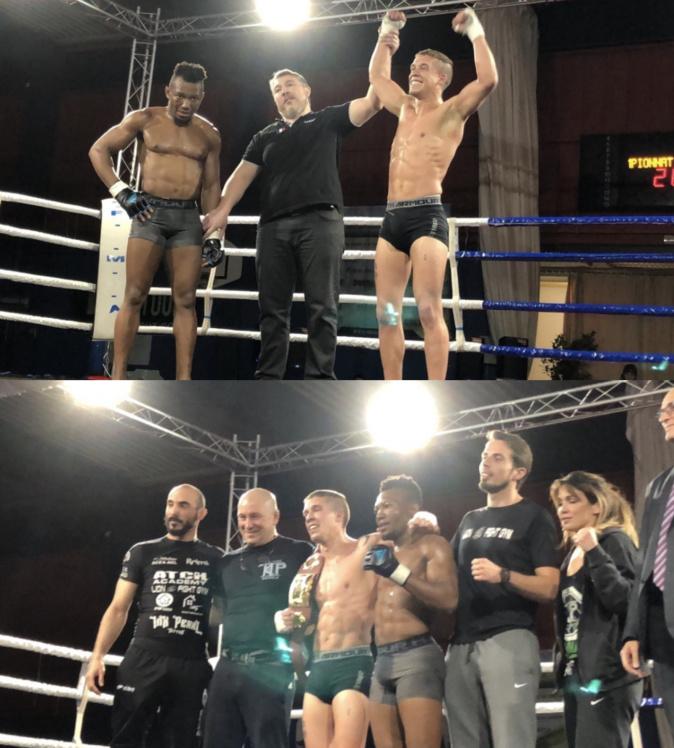 Franck Lebouyonnec (KTP) vs Brice Picaud (Lion Gym)