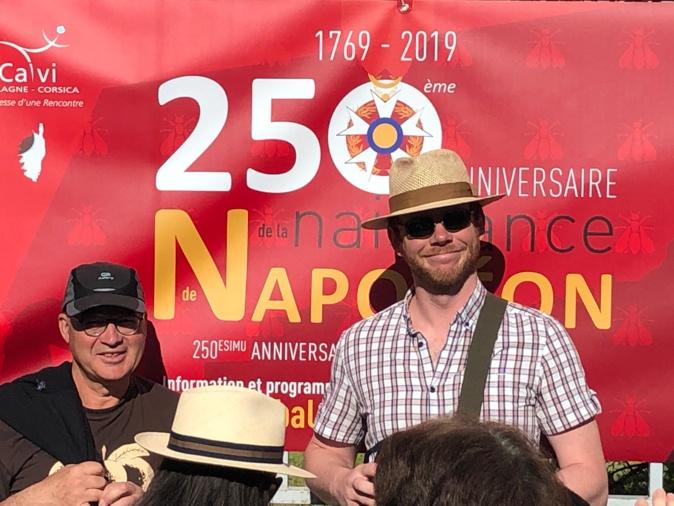 Calvi : Les célébrations du 250ème anniversaire de Napoléon ont commencé