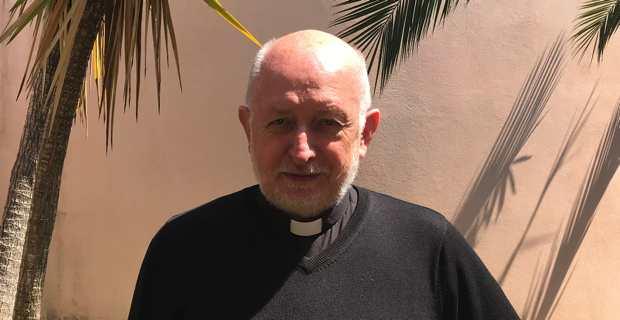 Père Piotr Swider, curé de la paroisse de Folelli et du secteur inter-paroissial de l'Ampugnani, La Porta, l'Orezza et la Tavagna.