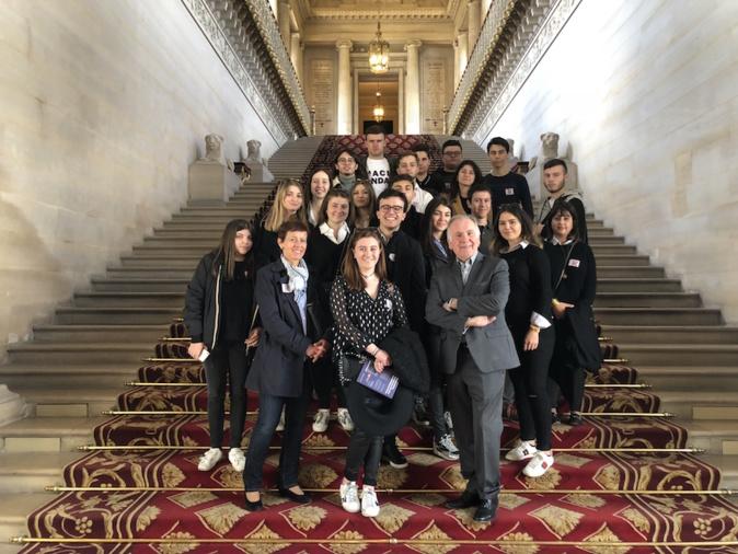 Les  lycéens du Fesch en voyage scolaire à Paris avant leur «nouvelle vie»