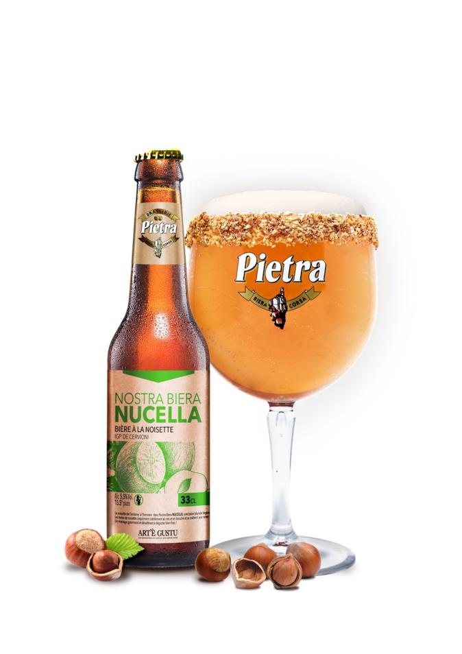 Nostra Biera Nucella : la bière à la noisette de Pietra à l'honneur à Art'è Gustu