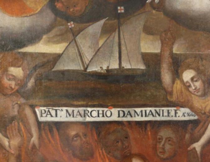 Le 1 mai Petracorbara célèbre l'oeuvre d'un peintre anonyme