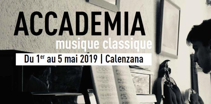 Master classes et concert pour la deuxième Accademia di musica classica de Calenzana