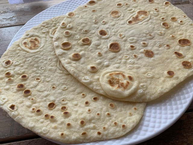 A table : Les piadine romagnole