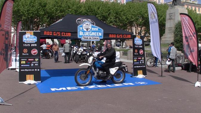 Moto : La Corse pour décor de la  « BlueGreen R80 G/S » 2019