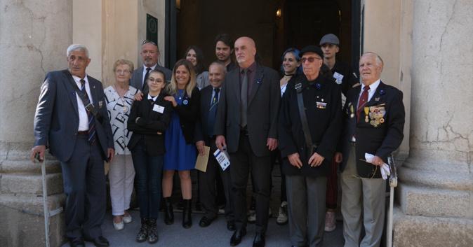 Le CMJ d'Ajaccio en pleine collecte pour le Bleuet de France