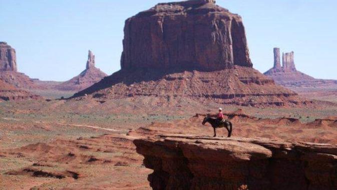 Deux indiens Navajo à la rencontre du peuple corse
