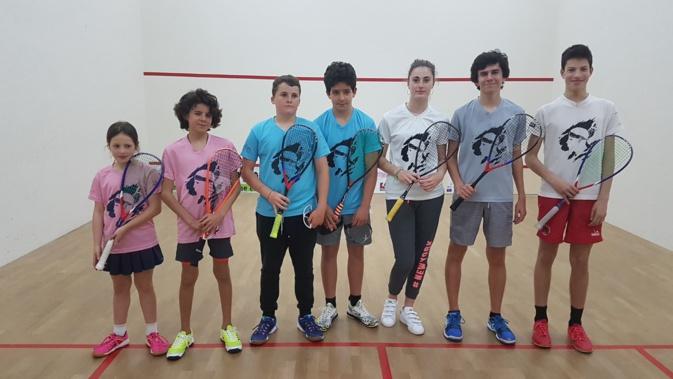 Bonne performance d'ensemble pour le Squash Loisirs Balagne à Chartres