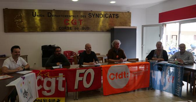 Les syndicats de Corse-du-Sud contre la réforme de la fonction publique