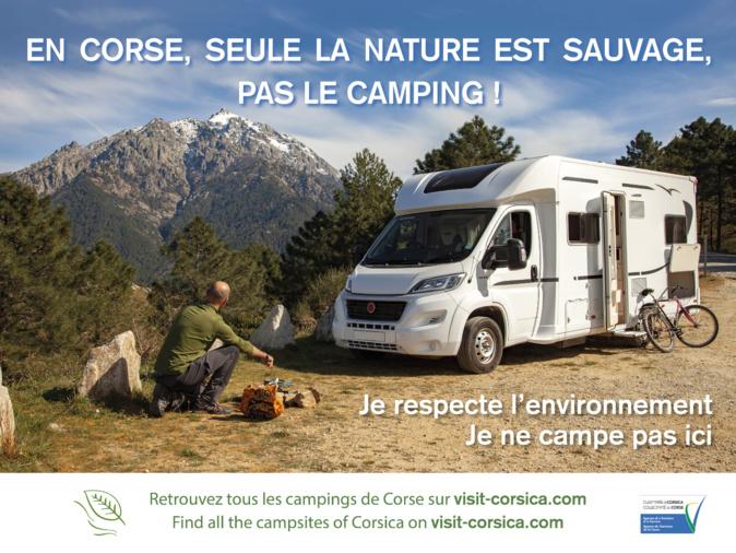 En Corse, seule la nature est sauvage… Pas le camping !