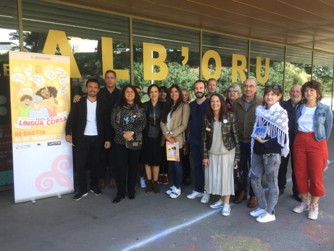 La municipalité de Bastia et les associations partenaires ont présenté la 5ème édition de A Festa di a lingua corsa