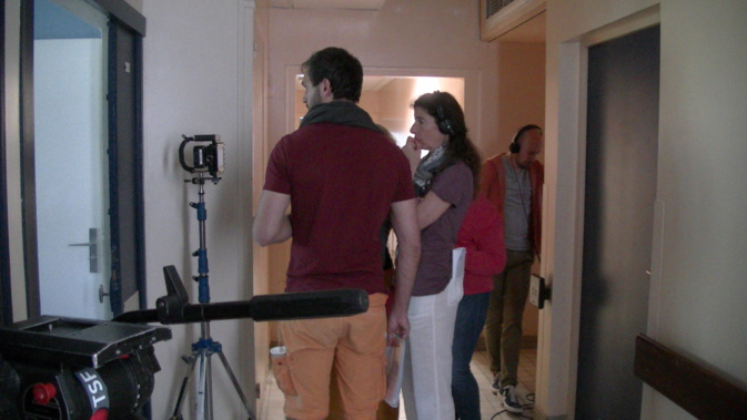 """Tournage du court-métrage """"Folies"""" au centre psychiatrique de Bastia"""