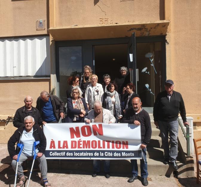 """Le Collectif """"en colère"""" des locataires de la Cité des Monts de Bastia toujours mobilisé"""