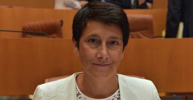 Fabienne Giovannini, présidente de l'Office public de l'habitat (OPH) de la Haute Corse.