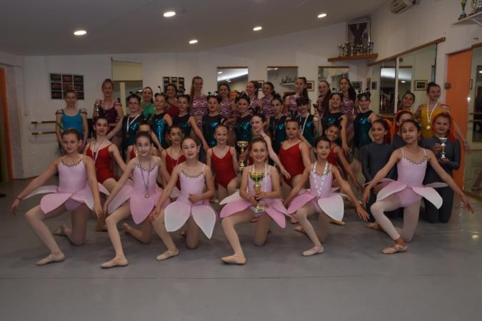Les danseuses de l'école Variation à l'honneur à Lisula