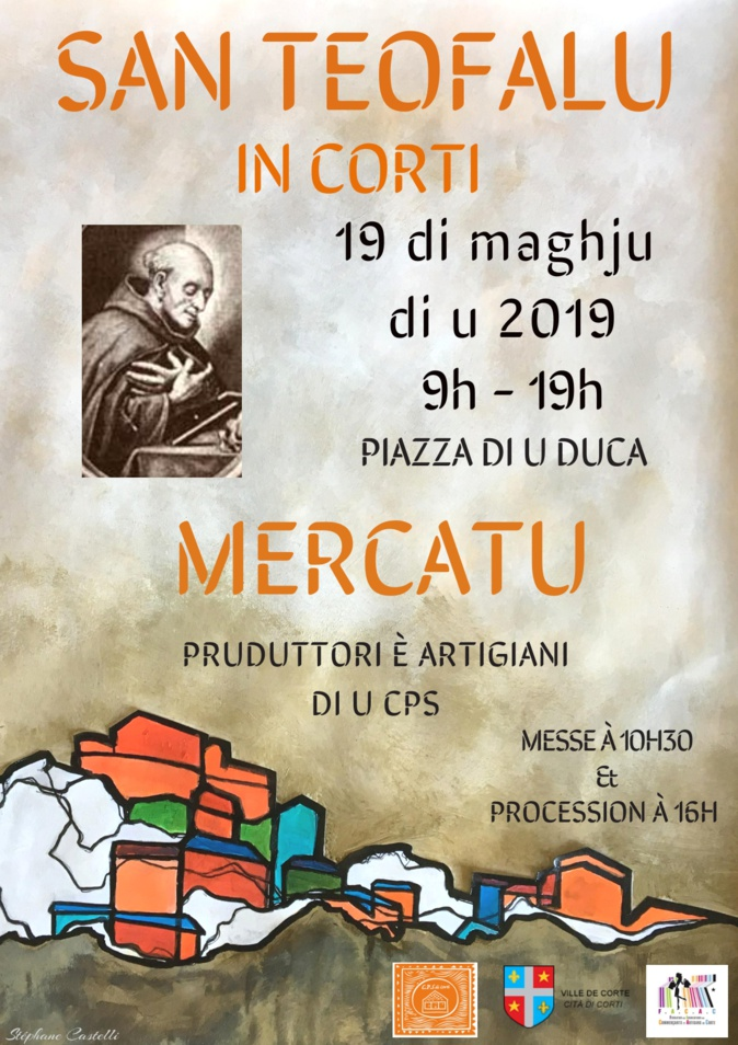 Mercatu di a San Teofalu dumènica in Corti