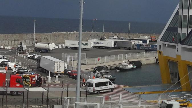 Bastia : Une voiture tombe dans le port. La conductrice sauvée par deux marins et un agent de sécurité