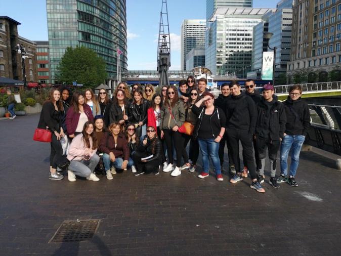 Lycée Pascal Paoli de Corte : les élèves de TES à la découverte de Londres