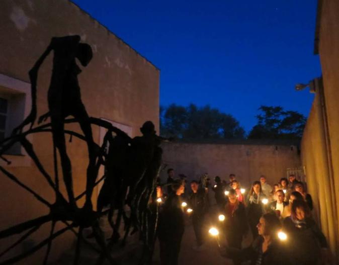 La nuit des musées : le Lazaret Ollandini à la lampe tempête