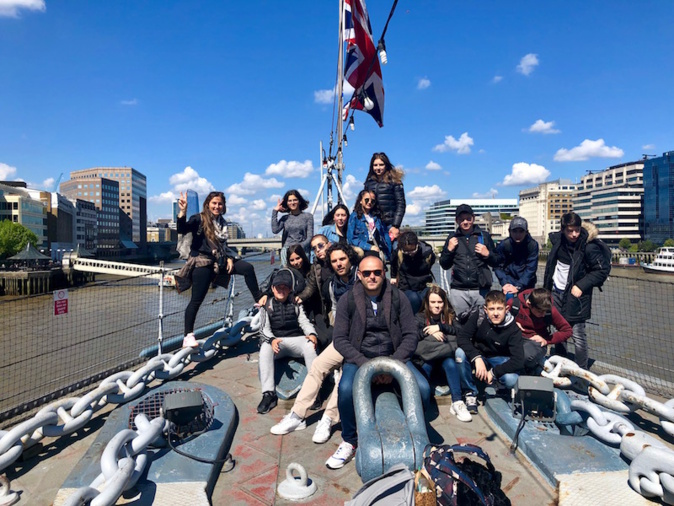 Du Taravo à Londres : le british tour des élèves du Collège de Pitretu