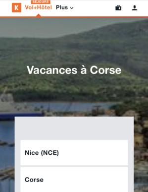 Kayak.fr : La Corse parmi les 3 destinations préférées des Français pour partir en voyage