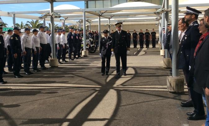 Bastia : L'hommage aux policiers morts pour la France
