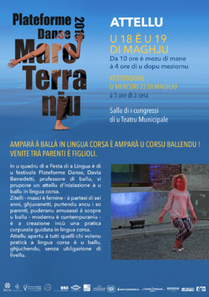 Bastia : Mare Terraniu, thème de  plateforme danse 2019