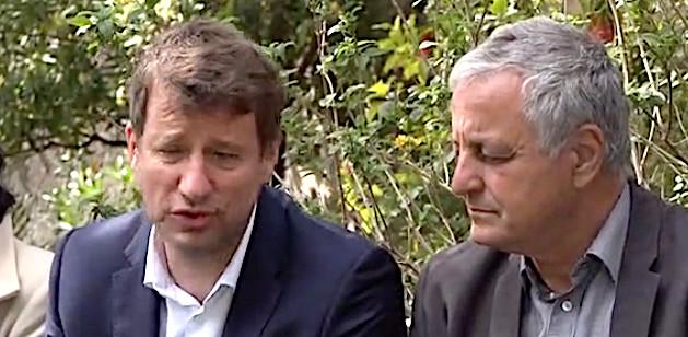 Yannick Jadot et François Alfonsi