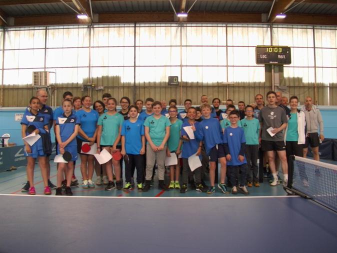 Les finalistes des championnats de Corse 2018/2019 regroupés à Bastia