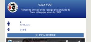 Le foot au dessus de la barbarie : Corsica-Palestina ouvre un appel à dons pour la rencontre amicale entre l'équipe des amputés de Gaza et l'équipe futsal de l'ACA